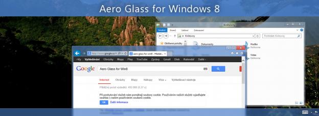 Aero glass di windows 8